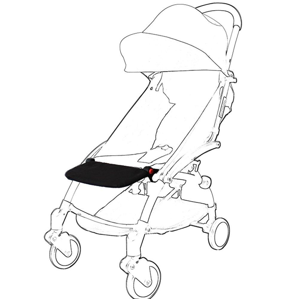 Stroller Footrest, Compact Footrest Footboard Sleepping Extend Board For Babyzen YOYO+ Stroller Prams ROMIRUS YY14C-ca