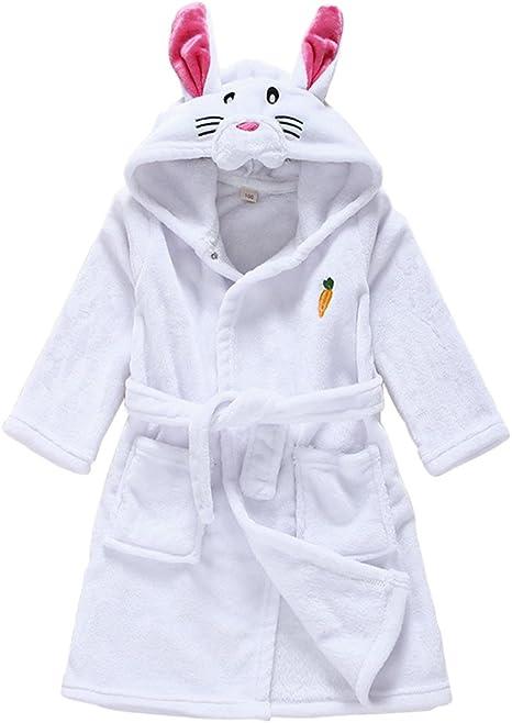 Vine Bebé Albornoz Algodón Pijamas Con Capucha De Baño para niños ...