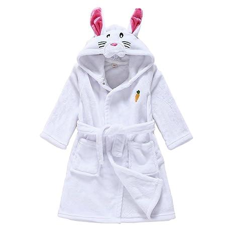 Vine Bebé Albornoz Algodón Pijamas Con Capucha De Baño para niños y niñas