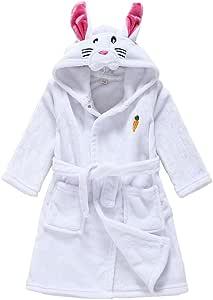 Vine Bebé Albornoz Algodón Pijamas Con Capucha De Baño para niños y niñas: Amazon.es: Ropa y accesorios