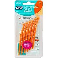 Tepe Angled 0.45mm Orange Interdental Brushes - Pack of 6