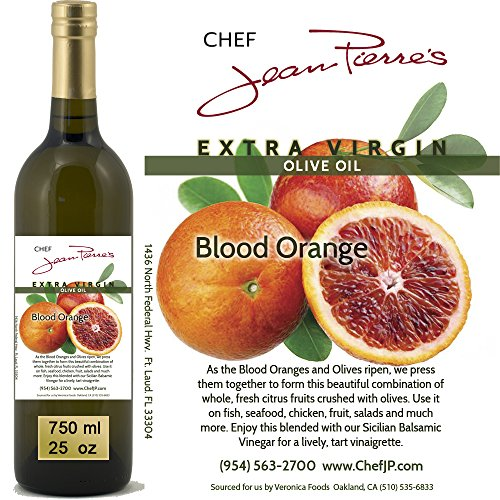 - 100% naturally infused Blood Orange Olive Oil 750ml (25oz)