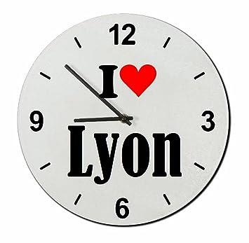 Idee Cadeau Lyon.Exclusif Idee Cadeau Verre Montre I Love Lyon Un
