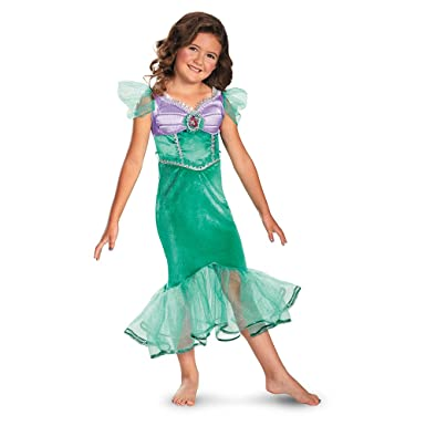 Amazon.com: Disney Ariel Sparkle Classic Kids Costume: Toys & Games