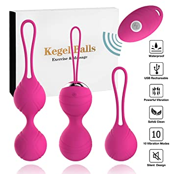 Abandship  Kegel Balls Kit Massager Ben Wa Balls For Women Silicone