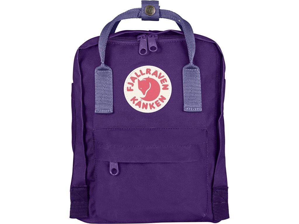 (フェールラーベン) FJALL RAVEN カンケン バッグ 7L カンケン ミニ リュック kanken mini bag バックパック リュック レディース ナップサック 通学 子供用 キッズ ナップサック 7L [並行輸入品] B01DZ5IJKE Purple Purple