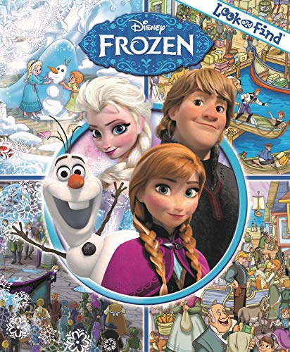 Disney - Frozen Look and Find - PI Kids