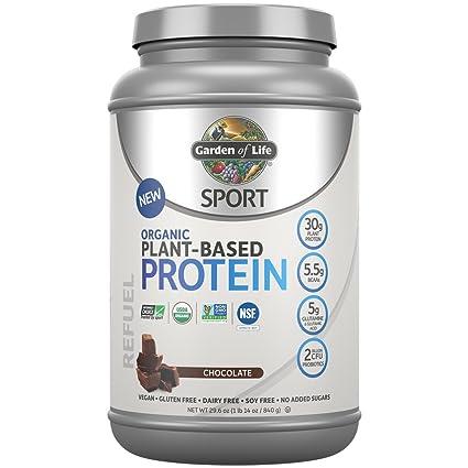 Garden of Life - Deporte proteína orgánica vegetal Chocolate - 29.6 oz.