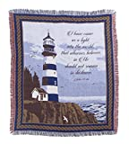 WalterDrake Lighthouse Blessings Tapestry Throw by OakRidgeTM