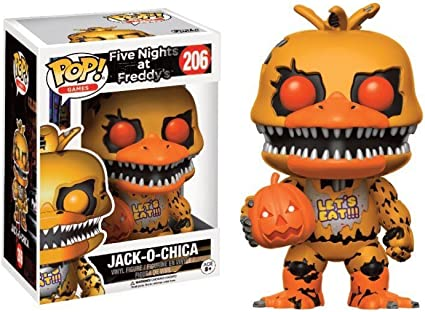 Halloween Funko Pop 2020 Five Nights At Freddy Amazon.com: Funko POP Jack O Chica GameStop Exclusive #206 Five