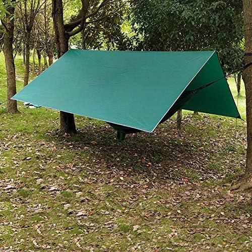 TIANKONG - Tienda de campaña para Exteriores (toldo Verde Militar, Impermeable y Resistente al Agua), Color Verde Militar, tamaño Size: Amazon.es: Jardín