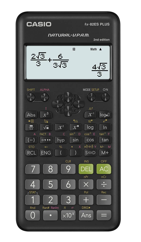 Calcolatrice scientifica 2a edizione Casio fx-82ES PLUS