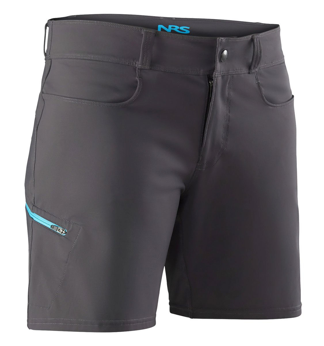 NRS Women 's Guide Shorts 6 ガンメタル B0797RC2VY