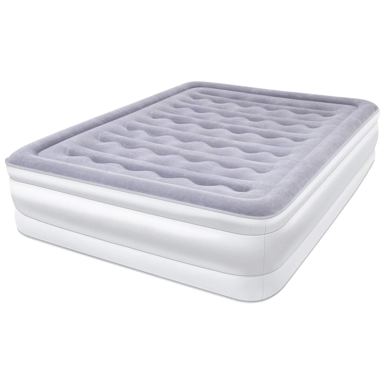 Colchón de Aire Hinchable 203 x 153 x 45cm cama hinchable ...
