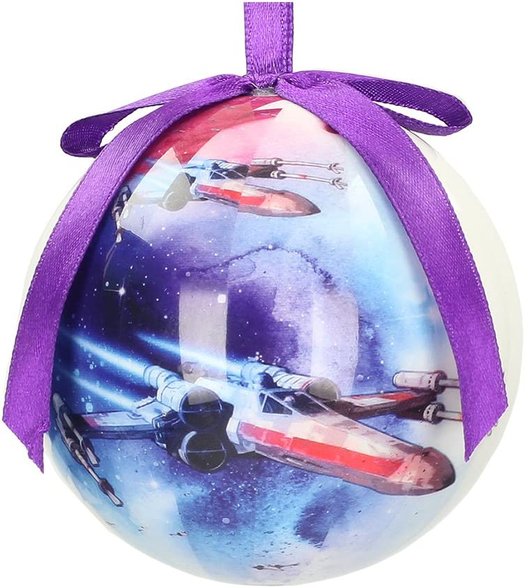 Star Wars X-Wings Christmas Bauble 8/x 8/x 8 White
