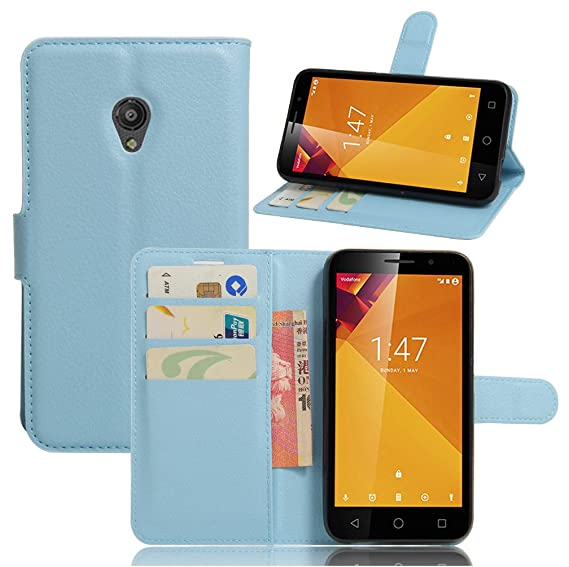Vodafone smart turbo 7 VFD500 Case–Manyip PU Leather Stand Wallet Flip Case Cover for
