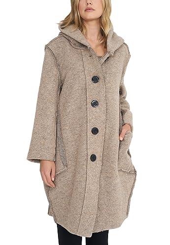 Vestino – Abrigo – para mujer beige 42