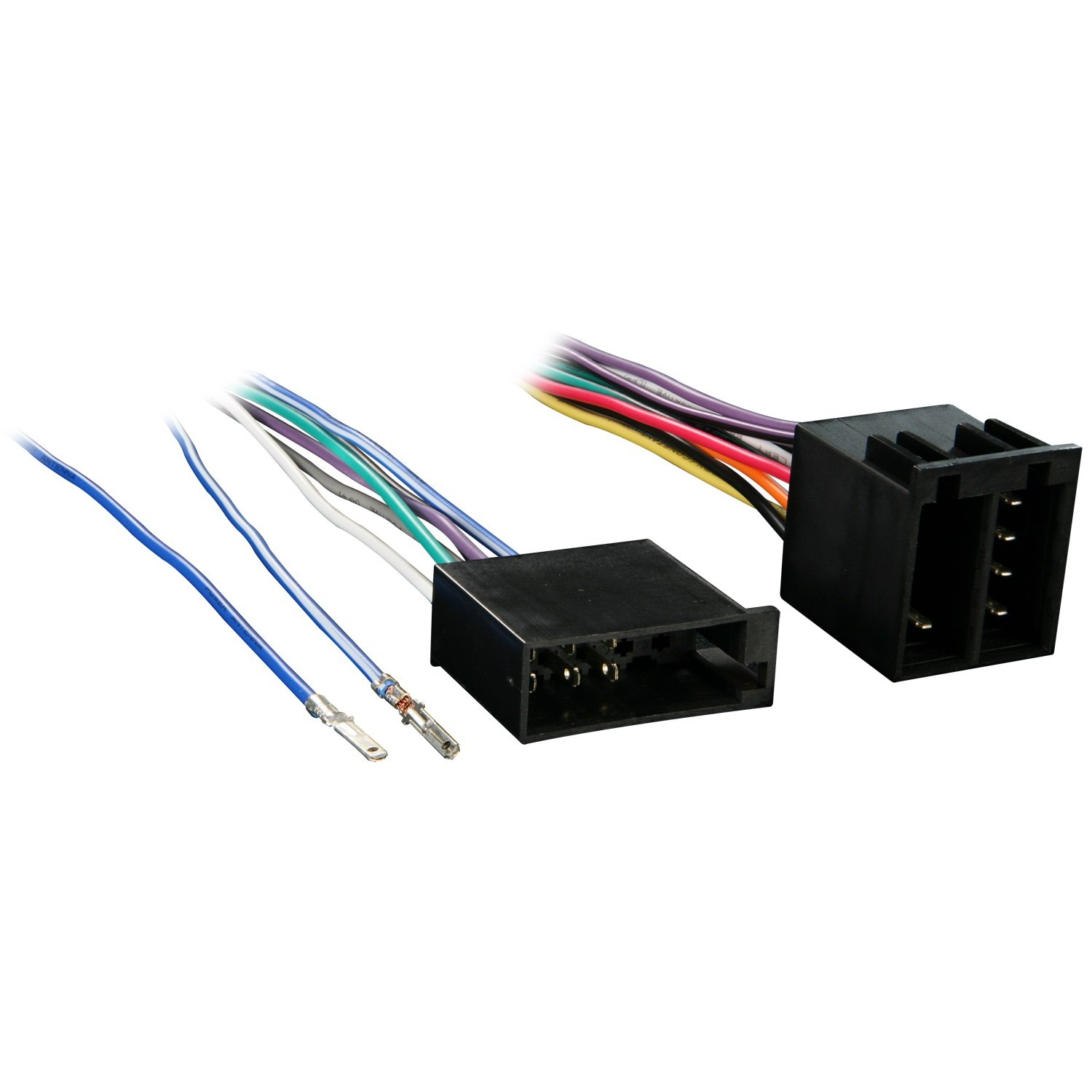 61A%2Bmi4eeeL._SL1500_ amazon com metra 70 9002 radio wiring harness for vw 87 02  at bakdesigns.co