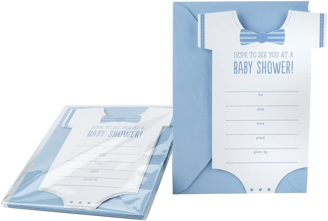 Hallmark Baby Shower Invitations Pack of 20 Invites and Envelopes Elephant