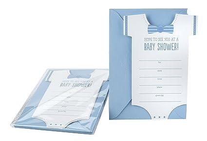 Hallmark Baby Shower Invitation Cards (Baby Boy)