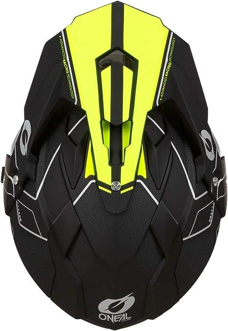 0817 ONeal Sierra II Comb Motocross Motorrad Helm MX Enduro Trail Quad Cross Offroad Gel/ände Gr/ö/ße L Farbe Schwarz Orange