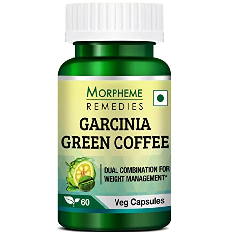 Buy Morpheme Remedies Garcinia Green Coffee Bean Extract For Weight Management 60 Veg Capsules Online At Low Prices In India Amazon In