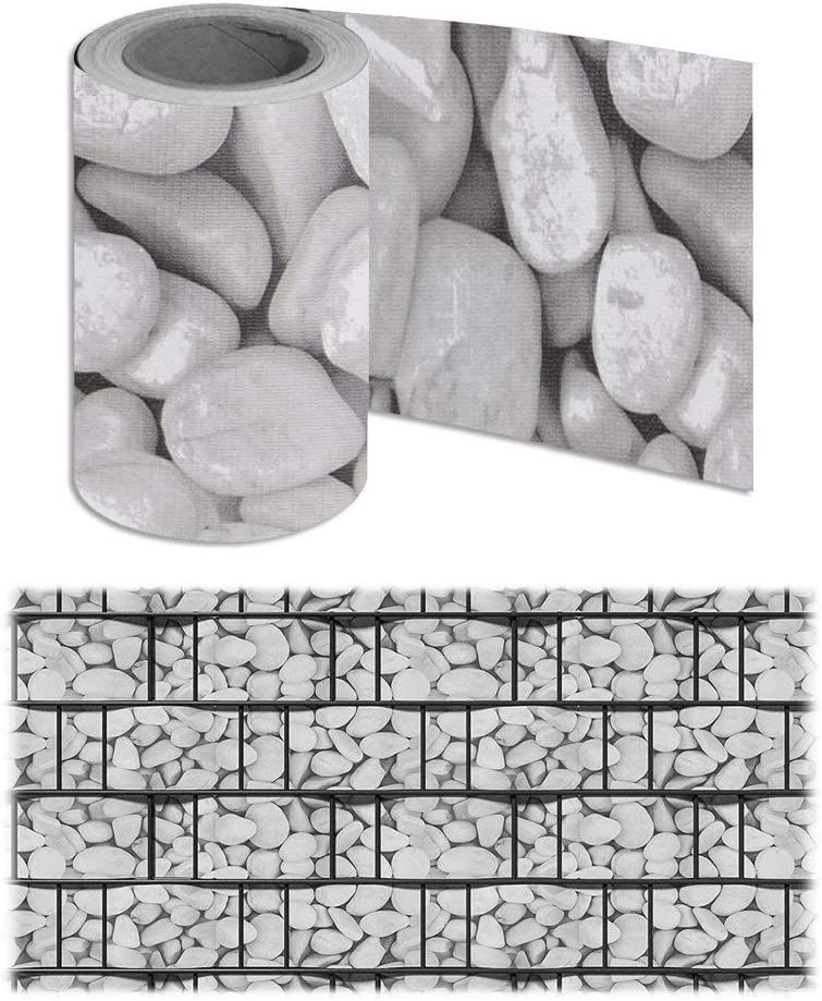 Froadp Pellicola Protettiva in PVC con Recinzione Clip di Fissaggio Doppio Recinzione da Opaca per Giardino Cortile Balcone Verde, 35mx19cm