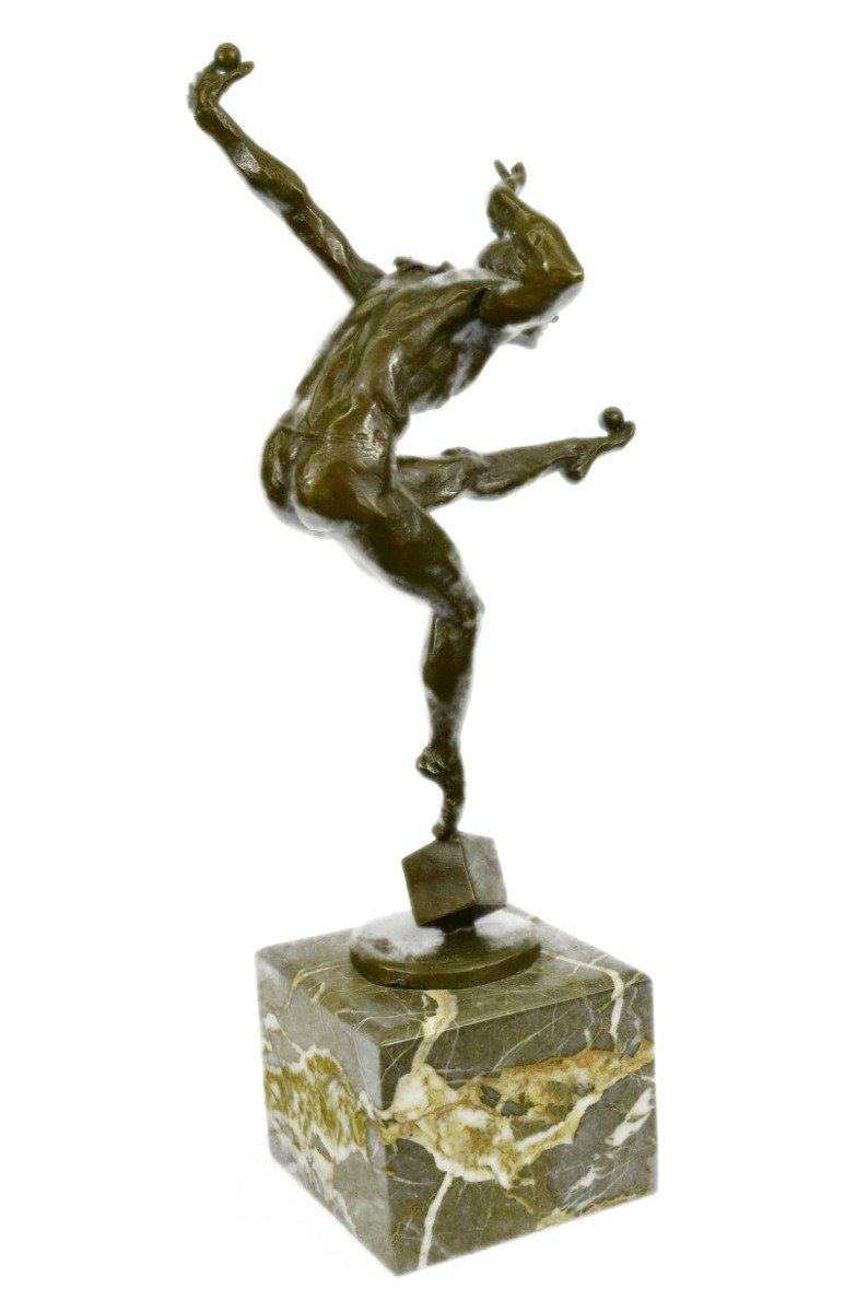Buy HandmadeEuropean Bronze Sculpture Hot Cast