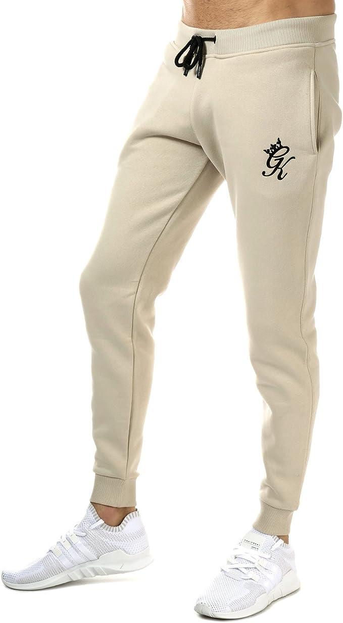Gym King - Pantalones de chándal para Hombre Blanco Blanco 27 ...
