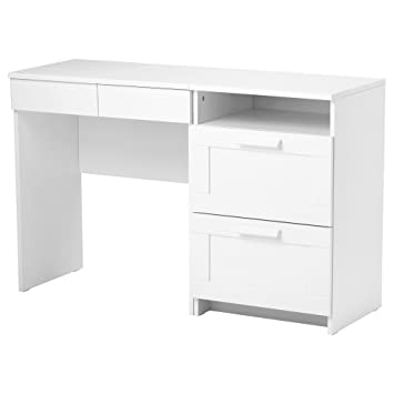 Amazon.de: IKEA BRIMNES - Schminktisch + Kommode mit 2 Schubladen Weiß