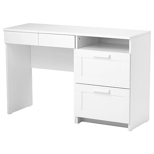 Kommode weiß ikea  Amazon.de: IKEA BRIMNES - Schminktisch + Kommode mit 2 Schubladen Weiß