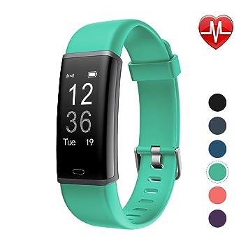 Amazon.com: LETSCOM Reloj de pulsera de actividad con ...