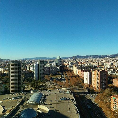 Barcelona Skyline, Barcelona Print, Barcelona, Barcelona Art, Barcelona Spain, Skyline, Skyline Print, City Skyline, Skyline Wall Art by Amadeus Long