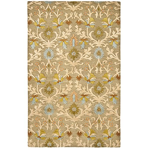 - Safavieh Cambridge Collection CAM235A Handcrafted Moroccan Geometric Moss and Multi Premium Wool Area Rug (10' x 14')