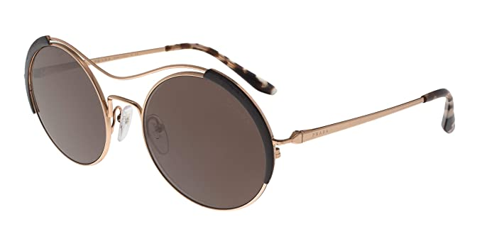 9b3129ffed Amazon.com  Prada Women s PR 55VS Round Sunglasses