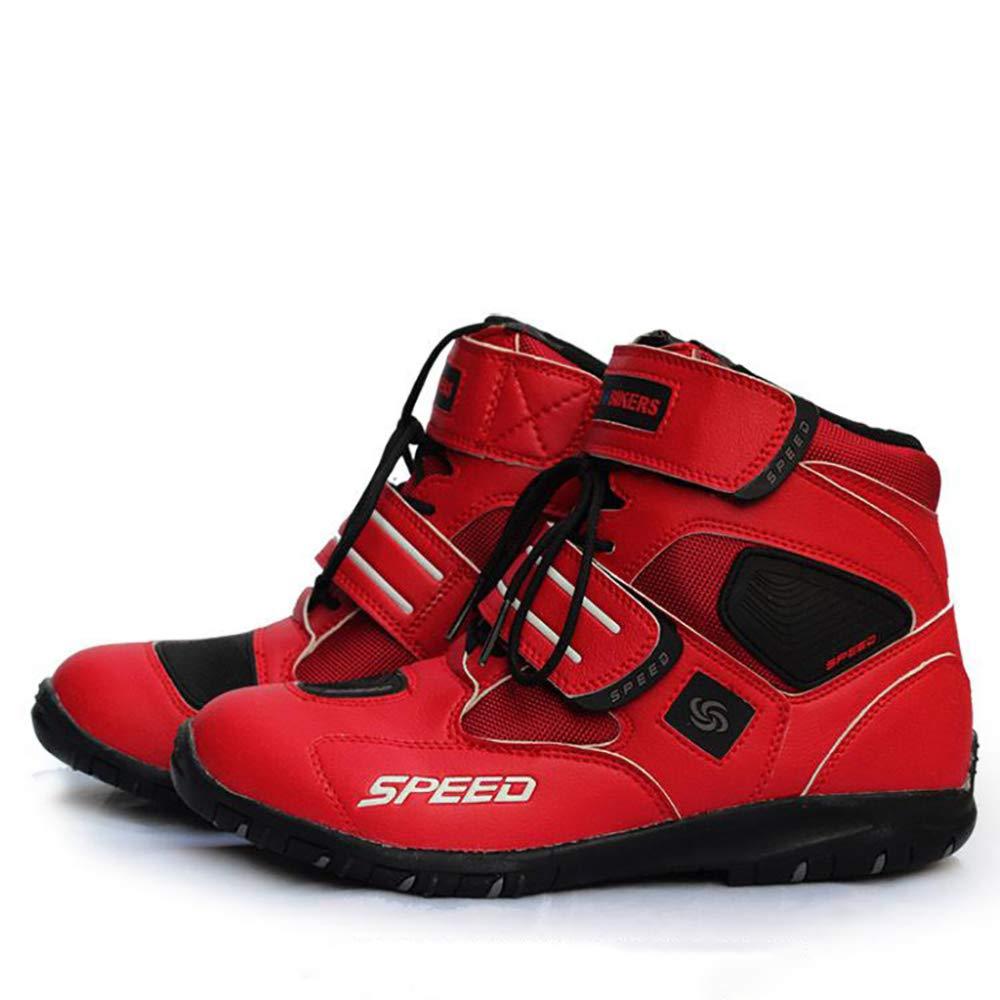 N//A Antideslizantes para Motocross Impermeables Suaves Botas de Motocross para Hombre