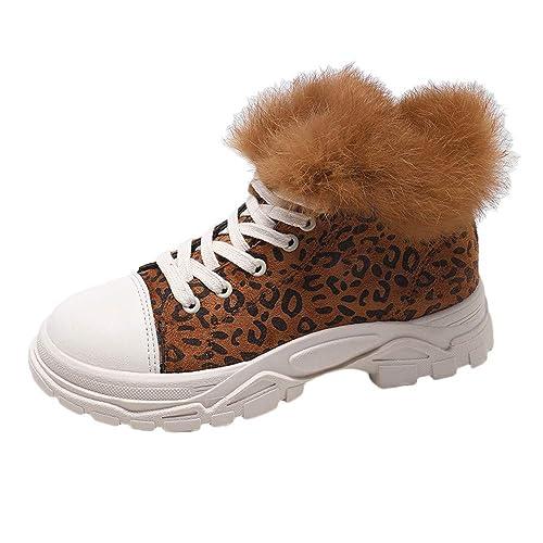 Botines de Invierno Mujer, Btruely Botas Mujer Tacon Alto Cuero Botines Invierno Botines Mujer Tacon Alto Otoño Zapatos De Botas Comodos Fiesta Zapatos ...