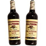 Lea & Perrins Original Worcestershire Sauce Value Pack -- 2/20 Fl Oz Bottles (40 Oz Total)