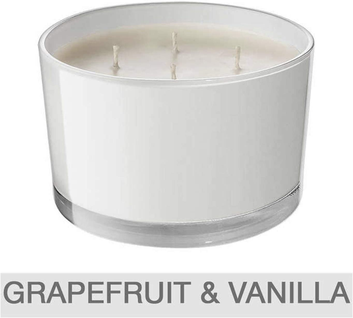 Luxury Candle Soy Blend with Pure Essential Oils Bellevue 4-Wick 40oz Bamboo /& Cyclamen