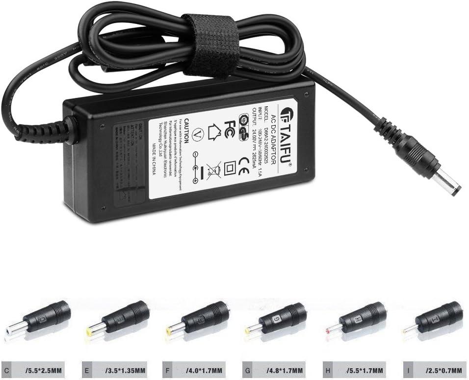 Cargador Corriente 24V Con 6 Tipo LED RGB 5050 3528,routers,monitor LCD TFT,Logitech G25 G27 APD DA-42H24 Racing Gaming Wheel,Homedics HF-060M Adaptador,Silhouette Cameo 1 2 3 Fuente alimentación