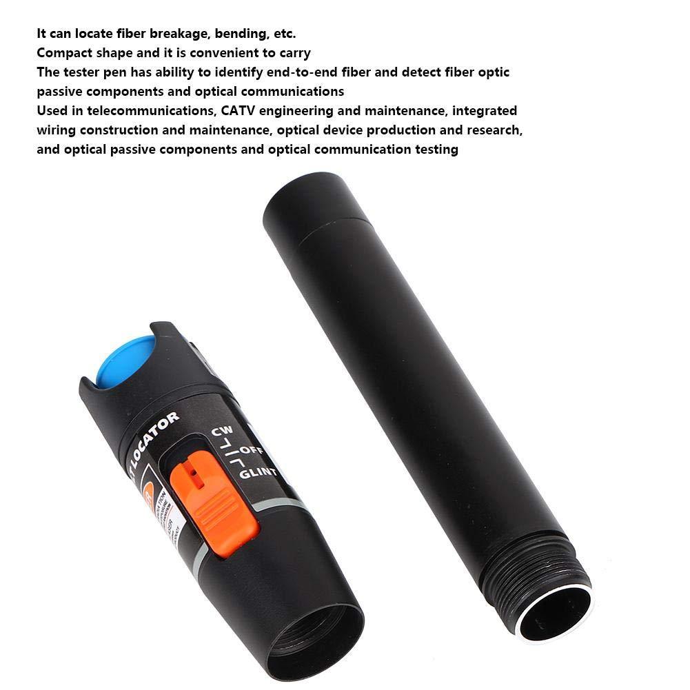 BWJ650-10 10MW Probador de Fibras,FTTH Probador de Cable de Red Lapiz de Luz Probador de Cable de Fibra /óptica Herramientas para Telecomunicaciones,Dispositivos y Componentes /ópticos,Comunicaci/ón