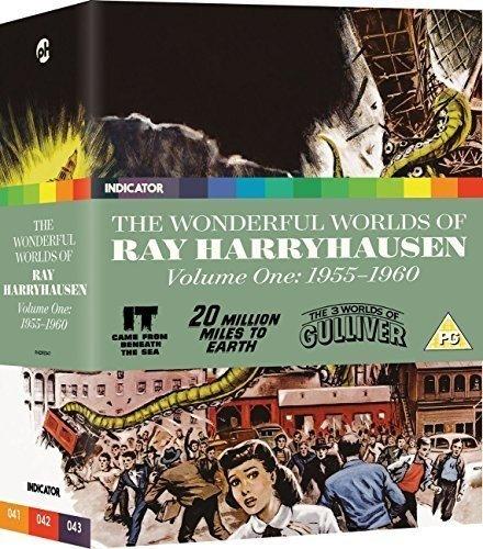 The Wonderful Worlds of Ray Harryhausen: Voume One: 1955-1960 [Blu-ray]