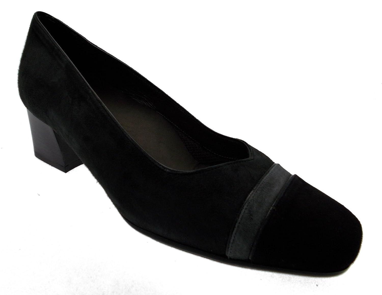 Mujer calzado art calzado X5444 tribunal ante, color negro 39.5
