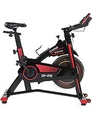 CARE FITNESS Vélo d'intérieur Droit CareFitness Spibike SP-490 – Vélo d'Appartement Confortable et Silencieux – Vélo Sport Biking Indoor avec réglage Amplitude articulaire.
