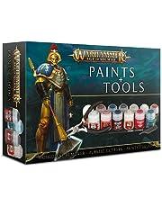Games Workshop - Warhammer - Age Of Sigmar Paints + Tools