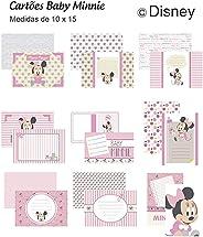 Kit Cartoes P/ Scrap Momentos Baby Minnie, Toke E Crie, Kcsmd03, Multicoloridos