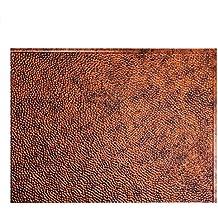 "Fasade Easy Installation Hammered Moonstone Copper Backsplash Panel for Kitchen and Bathrooms (18"" x 24"" Panel)"