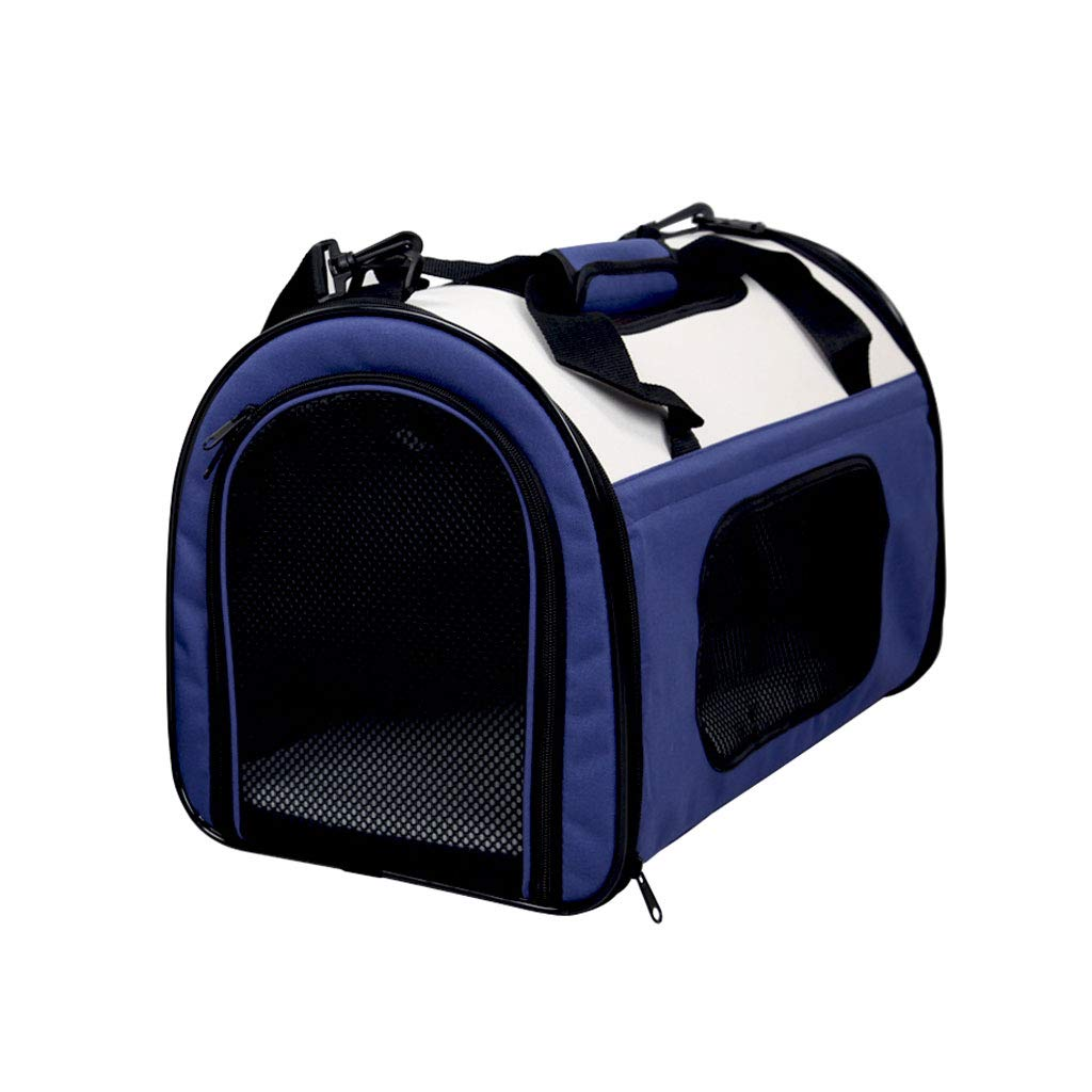 bluee S bluee S Pet Bags Pet Products Travel Out Backpack Fold Portable Teddy Dog Bags Cat Bags Bags Handbags Portable (color   bluee, Size   S)