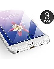 AXHKIO Compatibile con Pellicola iPhone 6/ iPhone 6s, 4.7 Pollici Vetro Temperato 0,25mm, HD Trasparente, 9H Durezza, 3D Touch