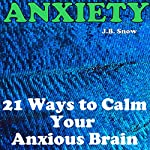 Anxiety: 21 Ways to Calm Your Anxious Brain: Transcend Mediocrity Book 44 | J.B. Snow
